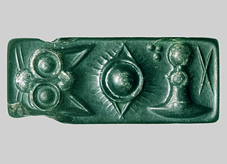 Cretan hieroglyphs - Image: Pini plombe orig II2 316d 3.2