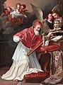 Pius V and crucifix Rome 18c.jpg