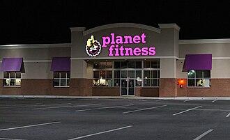 Planet Fitness - A Planet Fitness location in Revere, Massachusetts in November 2012