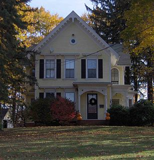 Plantsville, Connecticut United States historic place