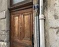 Plaque hommage à Victor et Hélène Basch au 1, Grande Rue de Saint-Clair (Caluire-et-Cuire) - 2.JPG