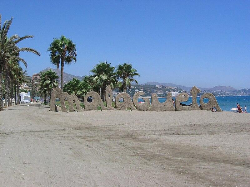 Playa de la Malagueta en M?laga