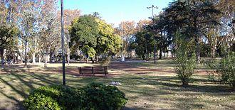 Barrio Echesortu - Image: Plaza Ciro Echesortu (panorama)