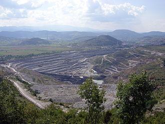 Pljevlja - Coal mine near Pljevlja