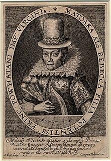 Pocahontas 17th-century American Indian woman