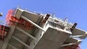 File:Pod Calafat - Vidin 2012.marc.05. Danube River bridge building.webm