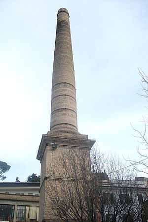 Poggio Mirteto - Former glassmaker's chimney