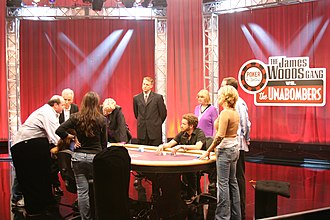 James Woods - Woods playing poker at the Pechanga Resort and Casino in California in 2005