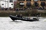 Police boat during the Boat Race in spring 2013 (2).JPG