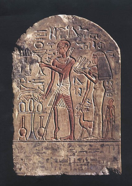 Figura 4- Polio Egyptian Stele