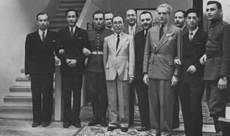 Kho Sin-Kie - Kho Sin-Kie (second from left) in Poland in 1939