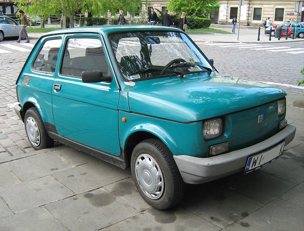 file polski fiat 126p aqua wikimedia commons. Black Bedroom Furniture Sets. Home Design Ideas