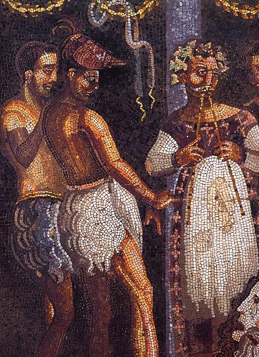 Pompeii - Casa del Poeta Tragico - Theater 1