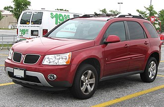Chevrolet Equinox - Pontiac Torrent