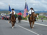 Parade celebrating Pony Express Days in Eagle Mountain, Utah