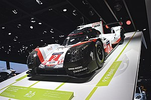 2017 24 Hours of Le Mans - Porsche LMP Team No. 2 Porsche 919 Hybrid, Winner of the 2017 24 Hours of Le Mans