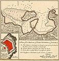 Port Antonio - crop of Les principales forteresses, ports &c. de lAmérique septentrionale (4071869633).jpg