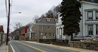 Port Deposit, Maryland - Main Street in historic Port Deposit
