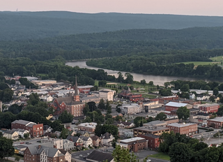 Port Jervis, New York City in New York, United States