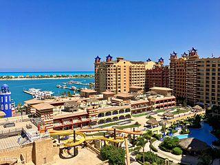 El Alamein City in Matrouh, Egypt