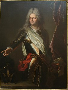 Portrait of Charles-Auguste d'Allonville, Marquis de Louville, 1708, by Hyacinthe Rigaud (1659-1743) - IMG 7300.JPG