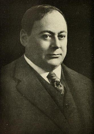 John R. Rathom - Portrait of John R. Rathom.