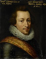 Portrait of Lodewijk Günther (1575-1604), Count of Nassau