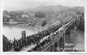 Rudolf Maister - Rudolf Maister's funeral.