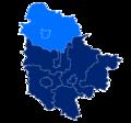 Powiat trzebnicki granice gmin i miast Żmigród.png