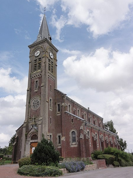 Prémont (Aisne) église