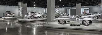 Petersen Automotive Museum - Precious Metal exhibit, 2015