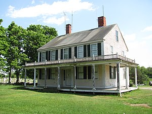 English: Preserved Gardner House, Swansea Mass...