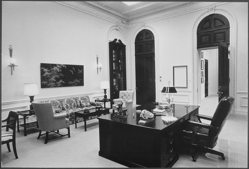President%27s office in the executive Office Building - NARA - 194633.tif