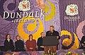 President Bill Clinton addresses the people of Dundalk.jpg