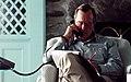 President George H. W. Bush speaks to Turkish President Turgut Ozal on the telephone.jpg