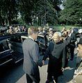 President John F. Kennedy Bids Farewell to President Dr. Sarvepalli Radhakrishnan of India (1).jpg