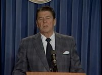 File:President Reagan's Press Briefing and surprise birthday in Press Room, February 4, 1983.webm