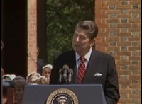 File:President Reagan's Remarks in Colonial Williamsburg, Virginia on May 30, 1985.webm