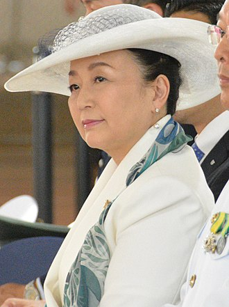 Princess Tomohito of Mikasa - Nobuko in June 2017