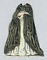 """Print, Jenny Lind Paper Doll Costume, Donna Anna from the opera """"Don Juan"""", ca. 1850 (CH 18392593).jpg"""