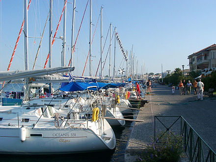 View of the promenade Promenade of Preveza, Greece.jpg