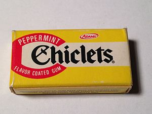 Chiclets - Sample package