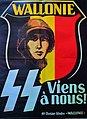 """Propaganda from the Waffen-SS. SS-Division blindee """"Wallonie"""".jpg"""
