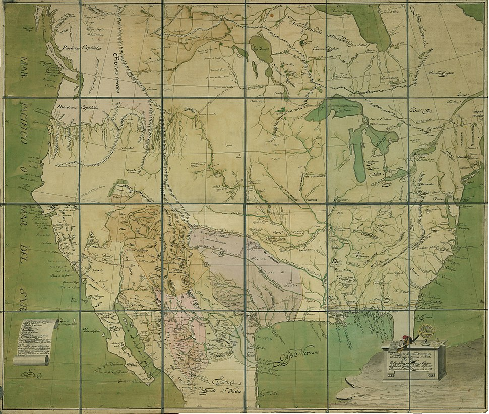 Provincias Ynternas Nueva España 1817