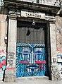 Puerta de entrada del Centro autogestionado La Tabacalera.jpg