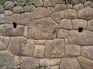 Puka Pukara - Inka stone placing