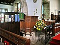 Pulpit, The Parish Church of St Mary the Virgin, Goosnargh - geograph.org.uk - 485359.jpg