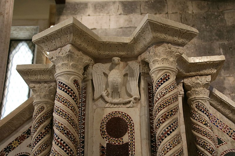 File:Pulpito, chiesa di San Pietro (Massa d'Albe), 3.jpg