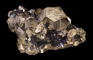 Sulfide minerals - Pyrite