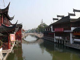 Qibao - Image: Qibao old town 2